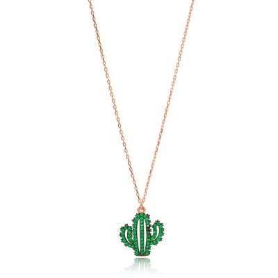 """Колие """"Emerald  Cactus"""""""