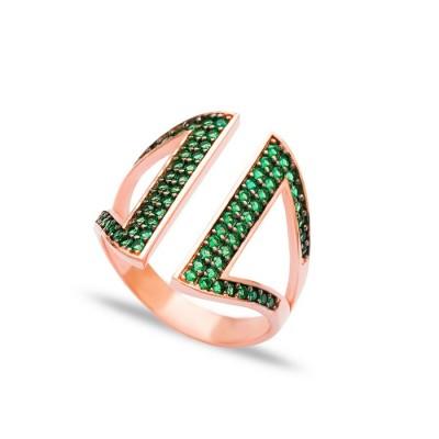 """Пръстен  """"Glimmer Emeralds"""""""